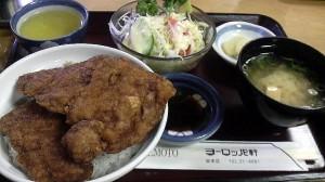 福井名物のソースカツ丼